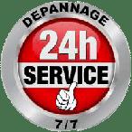 logo 24 h/ 24