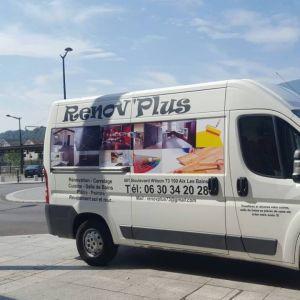 Camion entreprise Rénov Plus